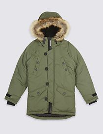 Faux Fur Parka with Stormwear™ (3-14 Years)