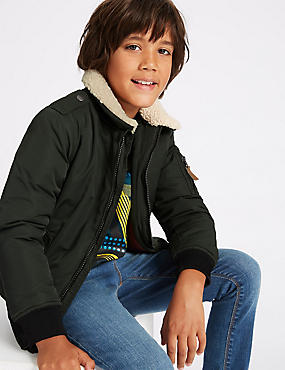 Bomber Jacket with Stormwear™ (3-14 Years)