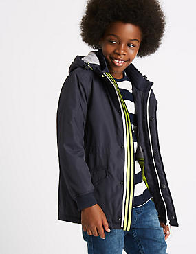 Hooded Jacket with Stormwear™ (3-14 Years)