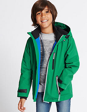 Zipped Through Jacket with Stormwear™ (3-14 Years)