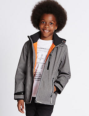 Textured Jacket with Stormwear™ (3-14 Years)