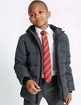 Hooded Zip Through Coat with Stormwear™ (3-14 Years)