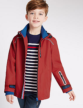 Zipped Technical Jacket with Stormwear™ (3-14 Years)