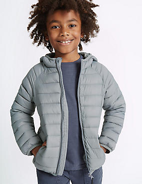 Padded Zip Through Coat (3-14 Years)