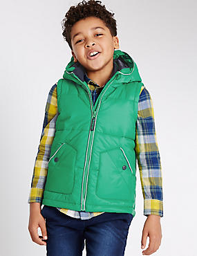 Padded 2 Pocket Gilet (3-14 Years)