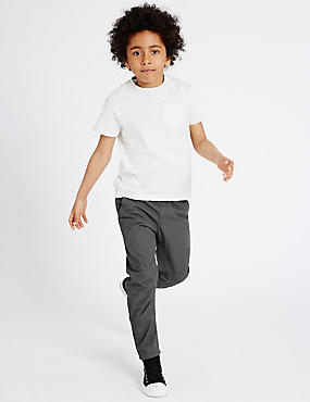 Pure Cotton Trousers (5-14 Years)