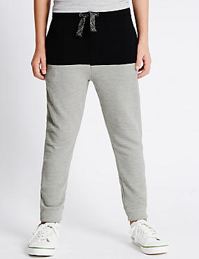 Pure Cotton Cut and Sew Joggers (5-14 Years)