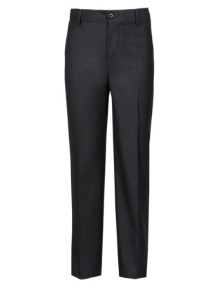 Straight Leg Trousers Clothing