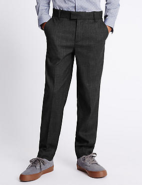 Brushed Formal Trousers (5-14 Years)