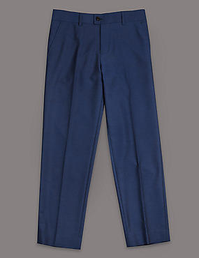Flat Front Trousers (5-14 Years)