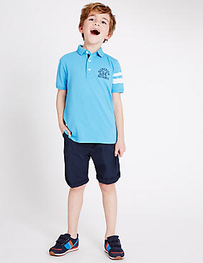 2 Pack Pure Cotton Shorts (3-14 Years)