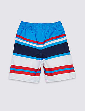 Multi Striped Swim Shorts (3-14 Years)