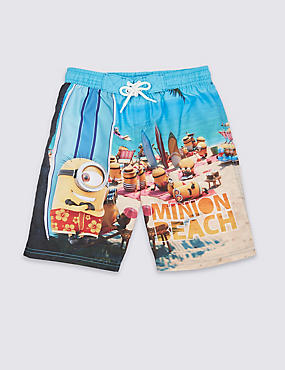 Despicable Me™ Minion Swim Shorts (3-8 Years)