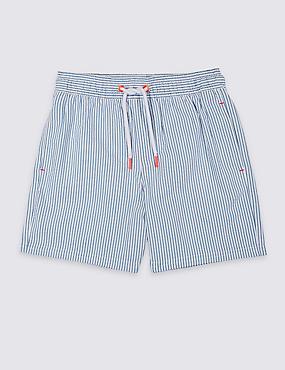 Drawstring Swim Shorts (3-16 Years), BLUE MIX, catlanding