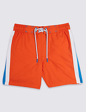 Side Stripe Swim Shorts (3-16 Years)