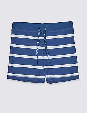Swim Trunks with Sun Safe UPF50+ (3-16 Years), MULTI, catlanding