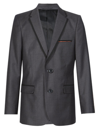 Notch Lapel 2 Button Blazer (5-14 Years) Clothing