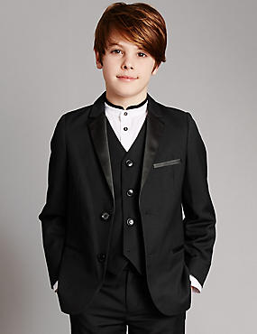 Notch Lapel 2 Button Jacket (5-14 Years)