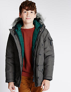 3 in 1 Parka Jacket (5-14 Years)