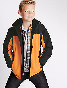 Colour Block Technical Jacket (5-14 Years)