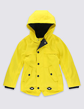 Fisherman Hooded Jacket (3 Months - 5 Years)