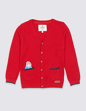Paddington™ Cotton Blend Cardigan (3 Months - 6 Years)