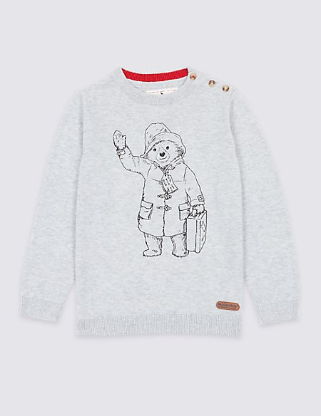 Paddington™ Cotton Blend Jumper (3 Months - 6 Years)