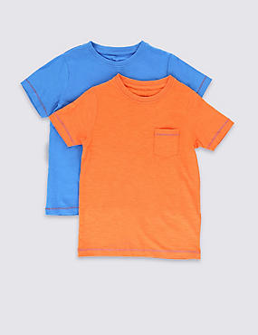 2 Pack T-Shirts (1-7 Years)