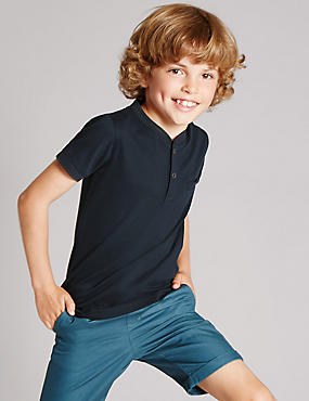 Cotton Rich Smart T-Shirt (1-7 Years)