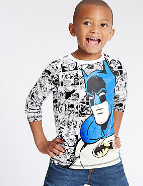 Pure Cotton Batman™ Comic T-Shirt (1-8 Years)