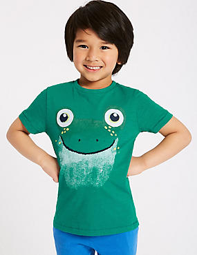 Frog Pure Cotton Top (3 Months - 7 Years)