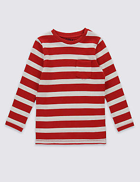 Cotton Rich Striped T-Shirt (3 Months - 5 Years)