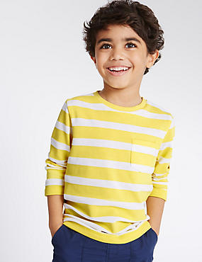 Striped Long Sleeve T-Shirt (3 Months - 5 Years)