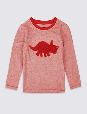 Pure Cotton Dino Top (3 Months - 5 Years)