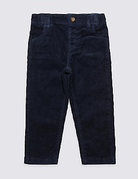 Paddington™ Cotton Cord Trousers with Stretch (3 Months - 6 Years)