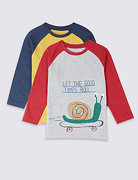 2 Pack Printed Tops (3 Months - 7 Years)