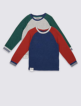 2 Pack Cotton Rich Tops (3 Months - 5 Years)