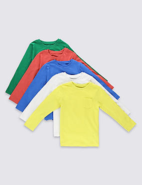 5 Pack Assorted T-Shirts (3 Months - 5 Years)