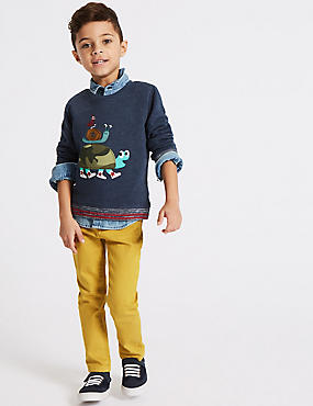 cotton rich stretched jeans 3 months 7 years - Pictures For Little Boys
