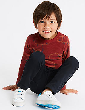 Cotton Rich Skinny Jeans (3-7 Years), NAVY, catlanding