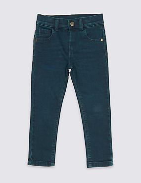 Cotton Jeans with Stretch (3 Months - 6 Years)