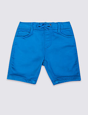 Cotton Rich Jersey Shorts (3 Months - 5 Years)
