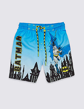 Batman™ Printed Swim Shorts (9 Months - 8 Years)