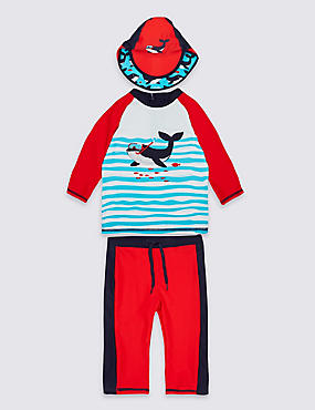 3 Piece Swim Outfit (0-5 Years)