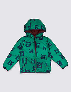 Reversible Padded Coat with Stormwear™ (3 Months - 7 Years)