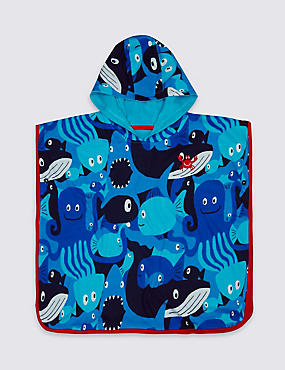 Pure Cotton Hooded Towel (3 Months - 7 Years)