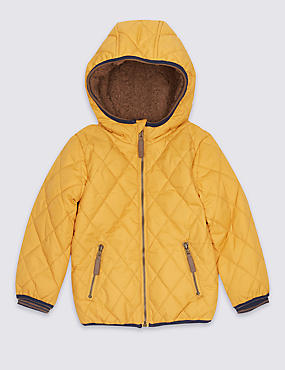 Padded & Quilted Coat with Stormwear™ (3 Months - 5 Years)