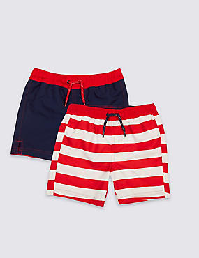2 Pack Swim Shorts (0-14 Years)