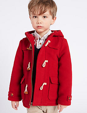 Paddington Duffle Coat with Wool (3 Months - 6 Years)
