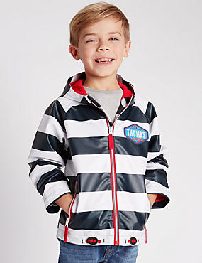 Thomas & Friends™ Striped Hooded Fisherman Jacket (1-7 Years)